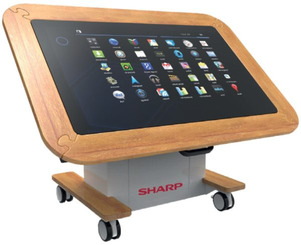 Sharp BIG PAD Interactive Learning Table